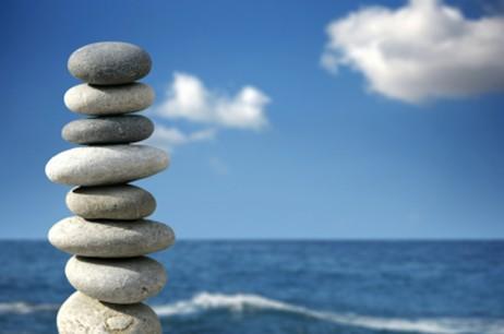 Diapo pierres en équilibre